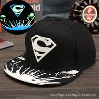 Compra Snapback Di Lupo Di Exo-Berretti da baseball all'ingrosso HIP HOP fluorescent sport caps Element fashion WOLF EXO snapbacks