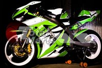 Wholesale Black Body Molding - Free gifts New Injection Molding Fairing kits for 03 04 ZX 6R 636 2003 2004 Ninja ZX6R ZX636 ABS fairings Body kits nice black white green