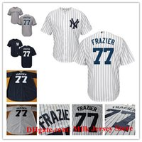 Wholesale Men s Women Youth Clint Frazier Jersey Sonny Gray Todd Frazier David Robertson Garrett Cooper New York Yankees Baseball Jerseys White