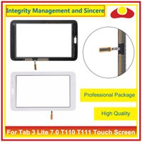 "Wholesale T111 Touch Panel - 7.0"" For Samsung Galaxy Tab 3 Lite 7.0 T110 T111 Touch Screen Digitizer Outer Glass Lens Panel"