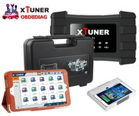 Wholesale Hd Trucks - XTUNER T1 HD Heavy Duty Trucks Auto Diagnostic Tool + WIN10 Tablet Pre Install Truck Diagnostic Software+ Suitcase All In One