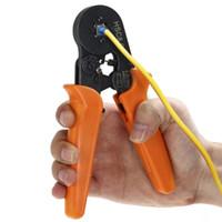 mehrfachkabel großhandel-Multi-use 0,25-6mm HSC8 6-4 selbsteinstellende Crimpzange AWG 24 - 10 für Kabelendhülsen Aderendhülsen für Abenteuer Camping CAR + B