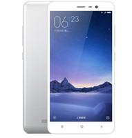 Wholesale redmi cellphones for sale - Xiaomi Redmi Note Note3 G LTE Smartphone Snapdragon MIUI7 Fingerprint Metal Body GB RAM GB ROM mAh refurbished cellphone