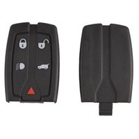 Wholesale Land Rover Freelander Key - Replacement 5 Button Remote Key Shell Uncut Blade Fob Case Fit For Land Rover Freelander 2 3 Free Shipping