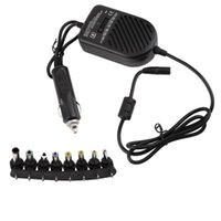 Wholesale Selling Laptop Chargers - Wholesale- Hot Selling Universal DC 80W Car Auto Charger Power Supply Adapter Set For Laptop Notebook Brand New