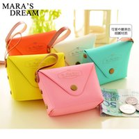 Wholesale Cute Key Pouch - Mars's Dream New Women Coin Purses Cute Girl Mini Bag Key Ring Case PU Leather Zipper Wallet Lovely cash Pouch Change Purse