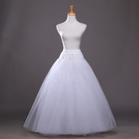 Wholesale Tulle Ball Gowns Wedding Petticoat - Adjustable Size Soft Tulle Ball Gown Bridal Petticoat 2017 4 layers Skirt Wedding Petticoats