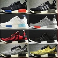 Wholesale Men Campus Shoes - 2017 Original NMD Originals Runner PK black white women Men and Women Classic Fur Sneakers Fashion Campus Lovers running Shoes ultra boost