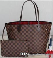 Wholesale Rhinestone Shapes - Fashion Women Bag Shoulder Bags Brand L Designer Never Full Lous V Speedy Mono Alma Leather Handbags gram Vutton Ladies Tote Zipper Bags