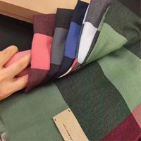 Wholesale Scarves Packaging - BBY- Original Package New classic color 3d print 100% Cashmere long scarf ,luxury cashmere scraves,100% Top grade cashmere, size70*180cm