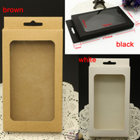 blackbarry mobile - universal Plain Kraft Brown Paper Retail Package Box boxes for phone case cover htc blackbarry sony for mobile phone and smart phone