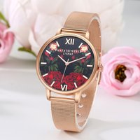 affaires net achat en gros de-Creative Luxury Women Dress Waters 2017 Net Watchband Mode Style Ladies Quartz Watches Famous Femmes Horloge Business Casual Montres-bracelets