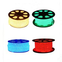 Wholesale 1m 3528 Smd - New SMD3528 LED Strips LED Flashing Lights 1M 60 Leds 110V 220V Waterproof with A Plug IP67