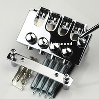 Electric 4string bass Locking Tremolo Bridge en chrome de Corée