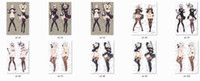 Wholesale Sexy Games Character - popular ARPG game nier automata anime Characters sexy girl yorha no.2 type b 2B pillow cover body Pillowcase
