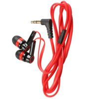 Wholesale Hot Candy Mp3 - Hot Sale 3.5mm In-Ear Earphone Candy Color SymmetricEarphone Compact Flat Cable for PC Laptop MP3 CD Player PSP High Quality