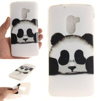 Wholesale Silicone Vibe - TPU IMD Painted Case Cover For Lenovo A7 010 Vibe X3 Lite K4 Note Soft Silicone Bear Owl Pattern Cover For Lenovo A7010 K4 Note