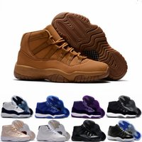Wholesale Ultimate Blue - New Air Retro 11 Ultimate Gift of Flight Blue Pantone Men Basketball Shoes Retros 11s Beige Maroon Sports Sneakers Size 40-47 WithBox