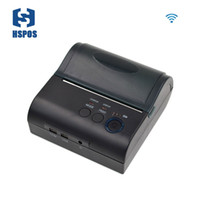 Wholesale Printer Printing Small - Portable Wifi thermal printer with battery small size logistics and transportation receipt printing machine support wireless printing