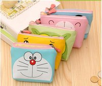 Wholesale Euro Style Bag - New CHildren's Mini Wallets 2017 Euro 21 Designs Cartoons Animal Coin Purse Street Style Clutch Bags PU Leather Bag Bank Card Bag 20pcs lot