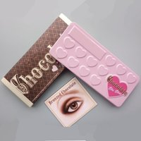 Wholesale chocolate bar eyeshadow palette 16 for sale - Group buy Chocolate Bar Eyeshadow Palette Faced Makeup Eye Shadow Brand Palettes Matte Bronzers Cosmetics Hear Shape Colors