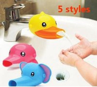 Compra Rubinetto Dell'anatra-Animal Baby Kid Elefante Dolphin Duck Water Tap Faucet Extender Washing Hands