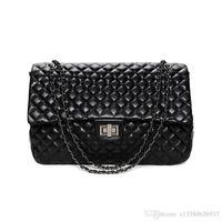 Wholesale Hand Bags Embroidery - Rhombic Lattice Bags Women Big Handbags Nice Luxury Ladies Hand Bags Purse Fashion High Capacity Shoulder Bags Bolsa Sac