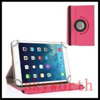 Wholesale Canvas Tablet Cover Inch - Universal Jean Cloth 360 rotating case cover for 7 8 9 10 inch tablet MID A33 Galaxy tab3 7.0 T230 T330 Stand