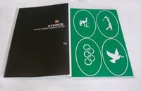 Wholesale Self Adhesive Body Stencils - Wholesale- New Self-Adhesive body art Temporary Airbrush Tattoo Stencil book PH-SB015