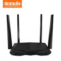 Tenda AC6 1200Mbps Inteligente Dual-Band 802.11AC 2.4G / 5.0GHz Gigabit Wireless WiFi Router Repetidor Wi-Fi, APP Manage, Inglés Firmware