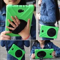 Wholesale Wholesale Fashion Belts China - Kickstand 360 Degrees Rotating Diagonal belt Shockproof Case Hybrid Colorful Protective Cover for ipad mini Air1 2