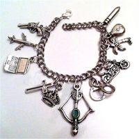 pfeilcharme für armbänder großhandel-6pcs Ultimative Green Arrow CW Charme Armbänder Oliver Queen Green Arrow Charm Armband