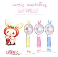 Wholesale 15cm Cooling Fan - New Cute Summer office and outdoor portable mini cartoon fan compact and lovely delicate and durable Mini usb hand fan cooling portable fan