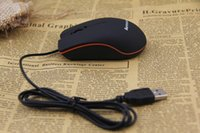 Wholesale hot sale lenovo M20 D wired USB optical gaming mouse office mice with retail box for PC notebook laptop