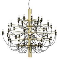 Wholesale Gino Sarfatti Chandelier - Chandelier, Modern Designer 18 30 50 Bulbs Pendant Lamp Chandelier Pendant Lights for Living Room Dinning Room Decor, gino sarfatti
