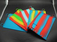 Unique design Heat resistance non-stick silicone baking mat anti slip mat dab wax oil extracts custom silicone dab mat multipurpose