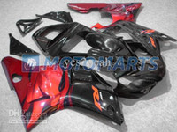 Kit de carenado negro brillante de color rojo brillante para YAMAHA YZF R1 YZF-R1 2000 2001 YZF1000 YZFR1 00 01 Carenados set + 7gifts