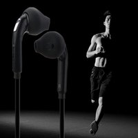 Wholesale headphones for pc - New Fashion Sport Running Headset with Mic 3.5mm In-Ear Wired Earphone Earbuds Stereo Headphones Universal for Xiaomi iPhone PC