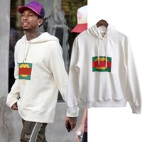 Wholesale Tyga Fashion - Europe Tyga Autumn Fashion Men Women Luxury Hoody Sweethearts Vintage Style lover Hooded Pullover Tops Hoodie