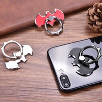 Wholesale Iphone Bat - Bat 360 Degree rotate Finger Ring Mobile Phone Smartphone Stand Holder For iPhone Samsung  Xiaomi Huawei All Smart Phone