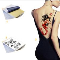 Wholesale Tatoo Papers - High quality 25pcs  lot Tattoo Transfer A4 Size Tatoo Thermal Stencil Carbon Copier Paper
