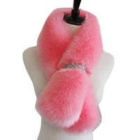 Wholesale-Fashion Faux Fur Scarf 2016 Winter Scarves Mulher cachecol bufandas mujer Amazing