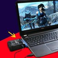 usb vakuumkühlerlüfter großhandel-Laptop Cooling Pads Mini Vakuum USB Cooler Air Extracting Lüfter für Notebook Laptop Lüftung Lüfter Kühlung 10-30 Grad in 5 min DN008