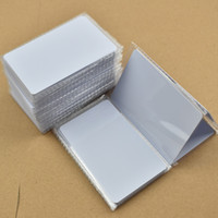 Wholesale Nfc 1k - 50pcs ISO14443A NFC Card RFID Smart Tag 1k NTAG215 Chip White Card for All NFC enabled devices