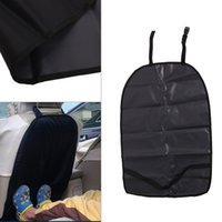 Wholesale Kick Pad Covers - Wholesale- 2017 Car SUV Seat Back Clean Protector Pad Child Baby Kick Anti Dirty Cover Cushion MAR25_15