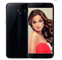 Wholesale Dual Sim Arabic Wifi Quad - ERQIYU Goophone S7 Shown MTK6592 Octa Core Smartphones unlocked 3G GPS Android 6.0 4GB RAM 64GB ROM mp3 cell phones