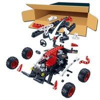 Kinder Spielzeug Geschenk Puzzle Plastic Assembly Racing Modell Xiaolong Pole Auto 6956