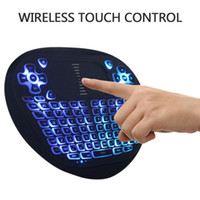 Wholesale T8 G Draadloze Gaming Toetsenbord Mini Backlit Toetsenbord Met Touchpad Voor Android TV Box Air Fly Muis Voor Smart TV Tablet