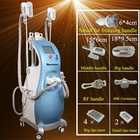 Wholesale Ultrasonic Cellulite Reduction Cavitation - 4 in 1 ultrasonic liposuction cavitation cellulite reduction fat reduction Slim Lipo Laser Machine Weight Loss