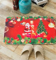 Eco Friendly Flannel Flannel DIY Non Slip Bath Mats Absorbent Waterproof  Mat Christmas Decoration Rug Pad Thick Flannel Mat Kitchen Bathroom Water  Antiskid ...